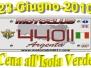 23 Giugno 2010 - Cena all'Isola Verde