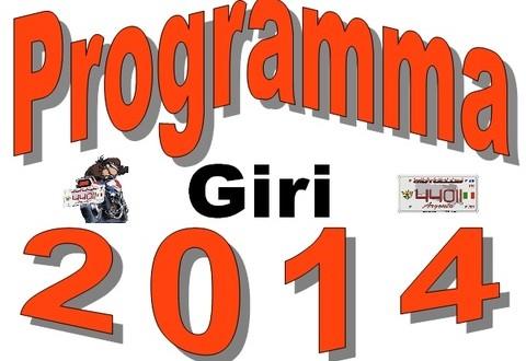 Programma Giri 2014